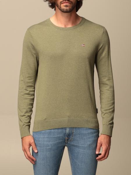Napapijri crewneck sweater with logo