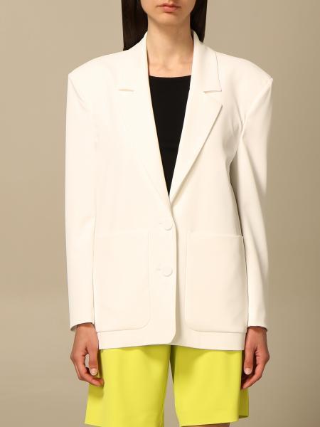 Patrizia Pepe single-breasted blazer in technical fabric