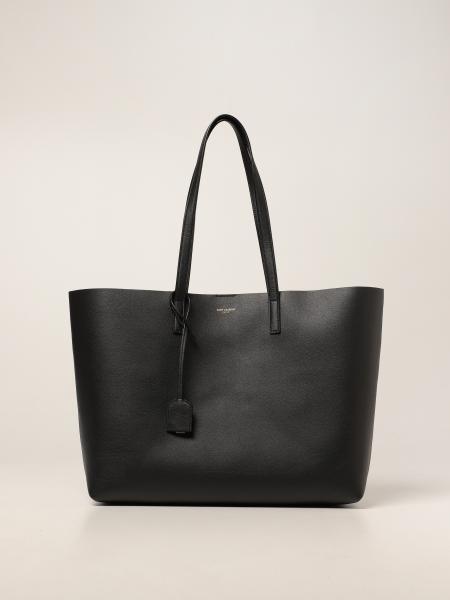 Borsa shopping bag Saint Laurent in pelle