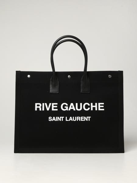 Borsa Noe Tote Rive Gauche Saint Laurent in canvas