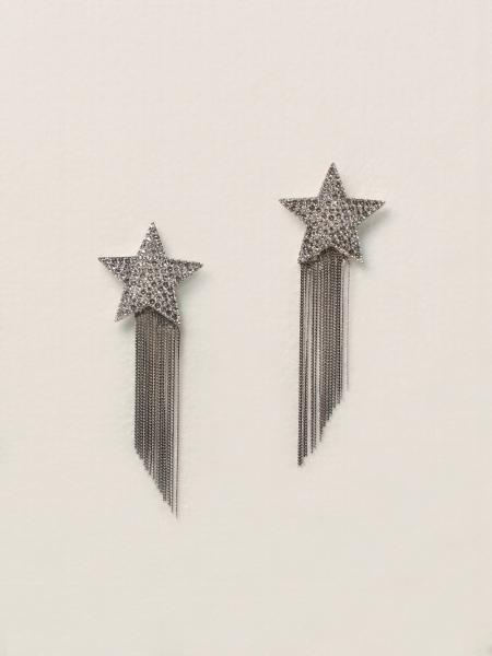 Saint Laurent donna: Orecchini stella con frange