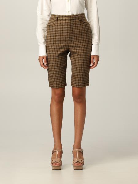 Pantaloncino Saint Laurent in lana