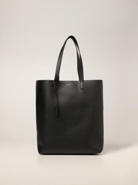 Borsa shopping bag Bold Saint Laurent in pelle