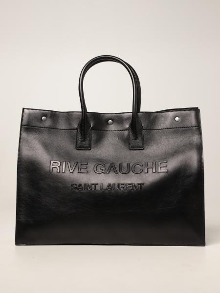 Borsa Tote Rive Gauche Saint Laurent in pelle