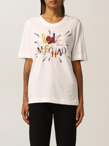 Love Moschino women: T-shirt women Love Moschino