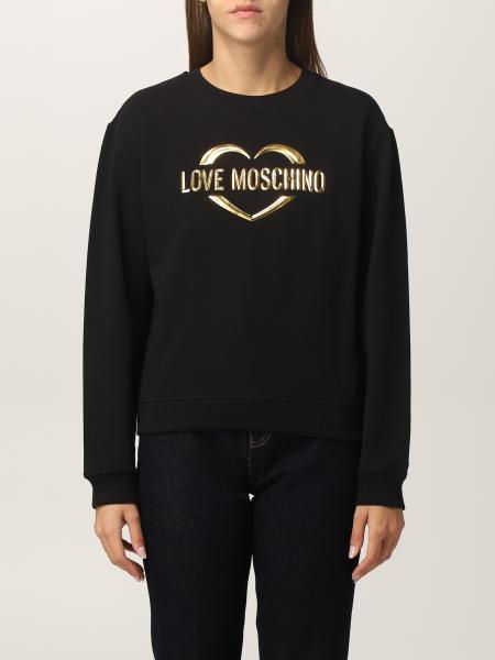 Love Moschino women: Sweatshirt women Love Moschino