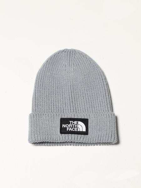 The North Face men: The North Face bobble hat with embroidered logo