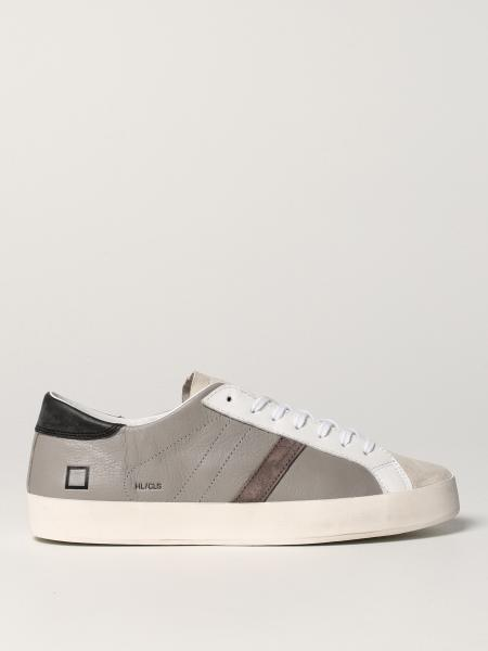 Sneakers D.A.T.E. in pelle e camoscio