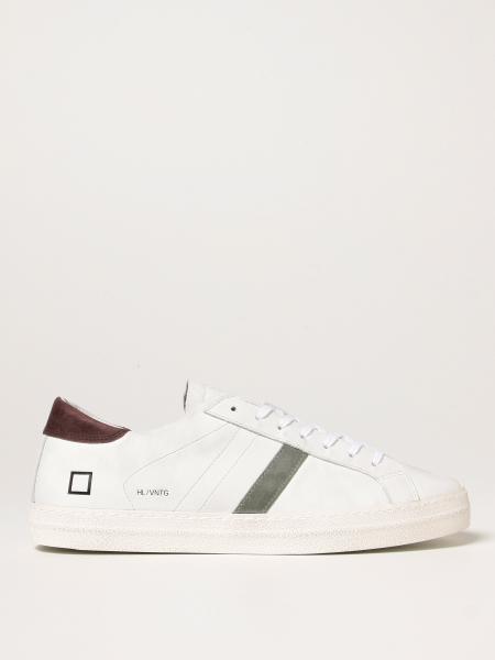 Sneakers D.A.T.E. in pelle