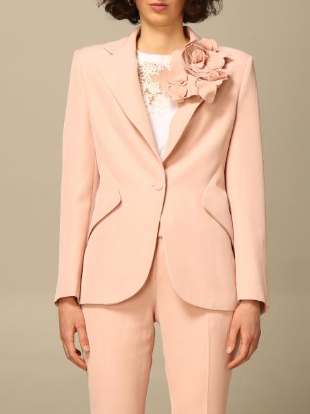 Ermanno Scervino jacket with floral applications