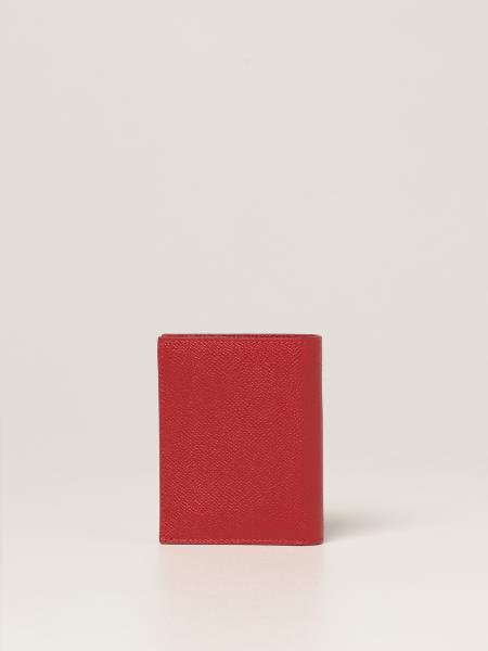 Salvatore Ferragamo Gancini wallet in hammered leather