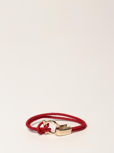 Salvatore Ferragamo bracelet in woven leather
