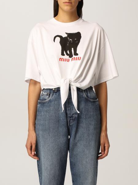 Camiseta mujer Miu Miu