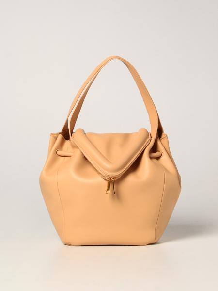 Bottega Veneta women: Bottega Veneta leather Beak bag