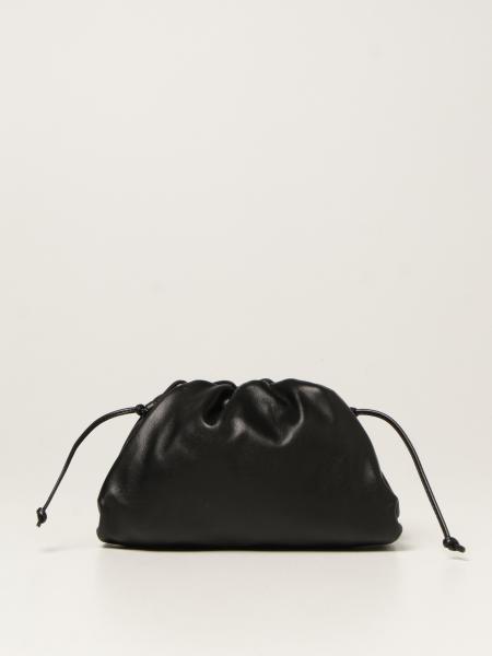 Bottega Veneta women: Bottega Veneta mini pouch clutch in nappa leather