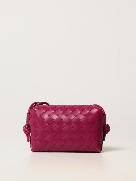 Bottega Veneta women: Bottega Veneta Cross-body Pouch bag in woven nappa leather