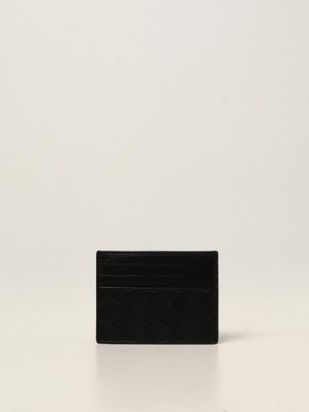 Porta carte di credito Bottega Veneta in nappa intrecciata 1.5