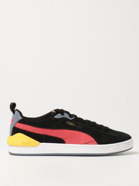 Puma: Sneakers Suede Bloc Puma in camoscio