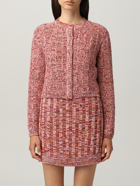 Missoni: Cardigan a girocollo M Missoni in misto lana vergine