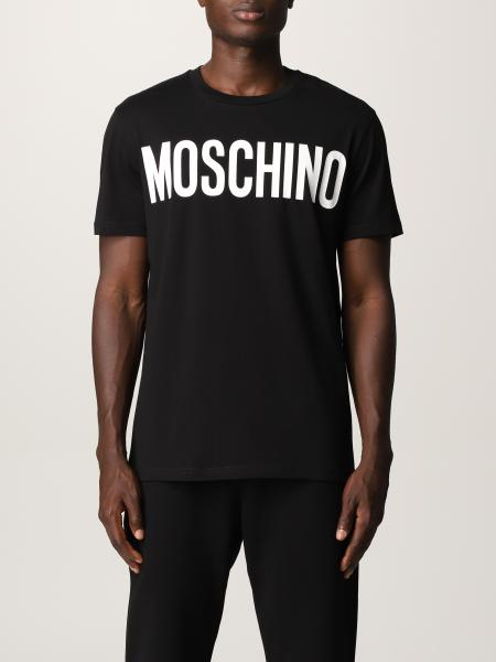 Moschino: Moschino Couture 大Logo T 恤