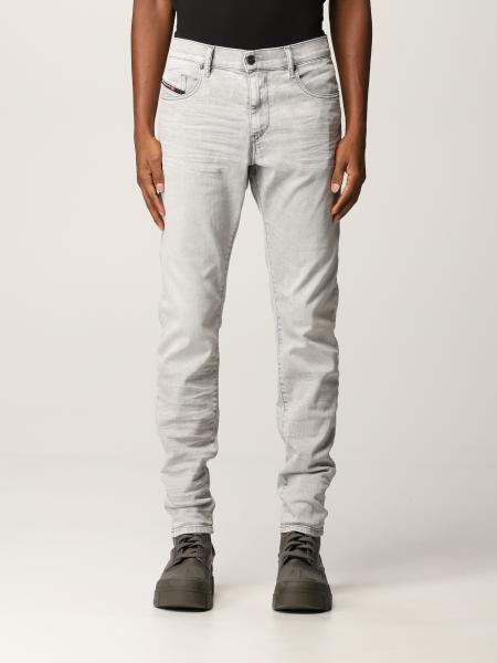 Jeans D-strukt a 5 tasche Diesel in denim washed