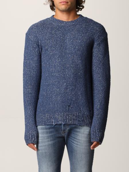 Diesel men: Diesel pullover in mélange wool blend
