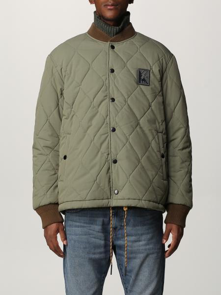 Diesel men: Quilted and reversible Diesel coach jacket