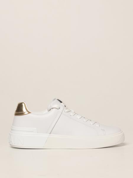 Balmain: Sneakers Balmain in pelle