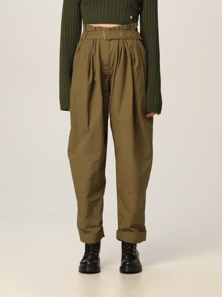 Pantalone Balmain in misto seta