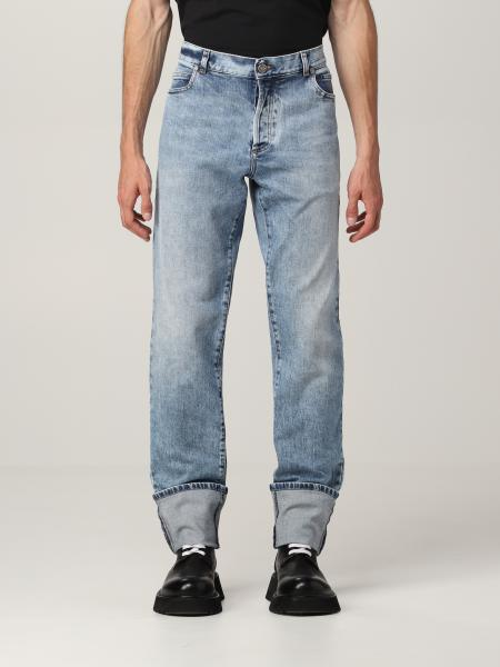 Balmain 5-pocket jeans in washed denim