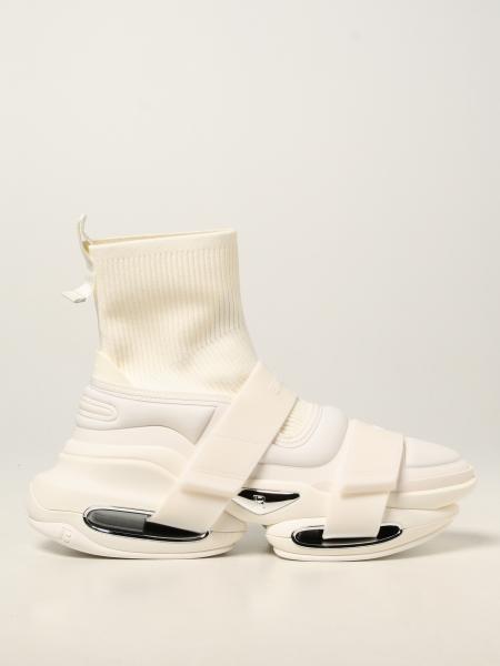 Sneakers B-Bold Balmain in maglia e tessuto