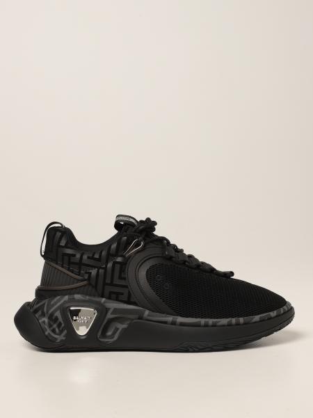 Sneakers B-Runner Balmain con motivo monogram