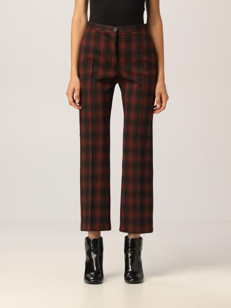 Gaio Pinko trousers with check pattern