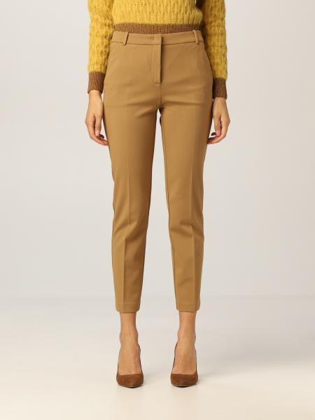 Pinko trousers in stretch viscose