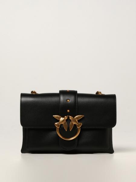 Love Mini Soft Simply 6 Pinko bag in calfskin