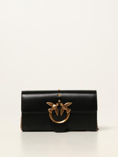 Pinko Love Classic Icon V Quilt 3 bag in nappa leather