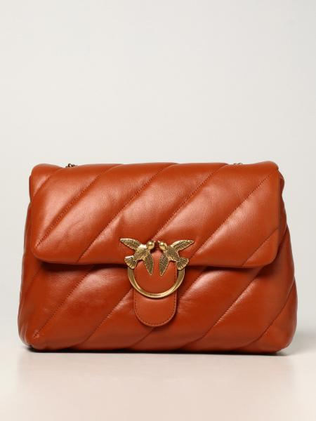 Love big Puff maxi Pinko bags in quilted nappa