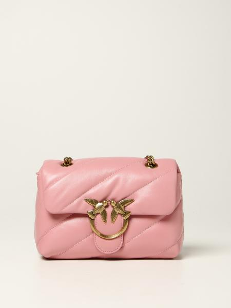 Borse Love mini Puff maxi quilt Pinko in nappa trapuntata