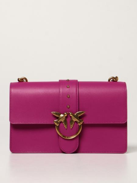 Love Classic Icon Simply Pinko bag in calfskin