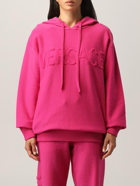 Felpa Versace in lana e cashmere