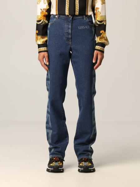 Jeans Versace con big Greca