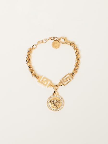 Versace women: Versace bracelet with Medusa and Swarovski