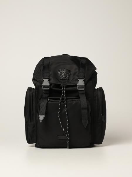 La Medusa Versace nylon backpack