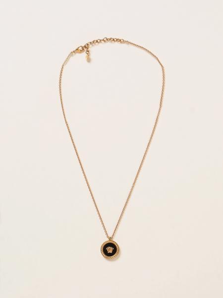 Versace necklace with medusa head medallion