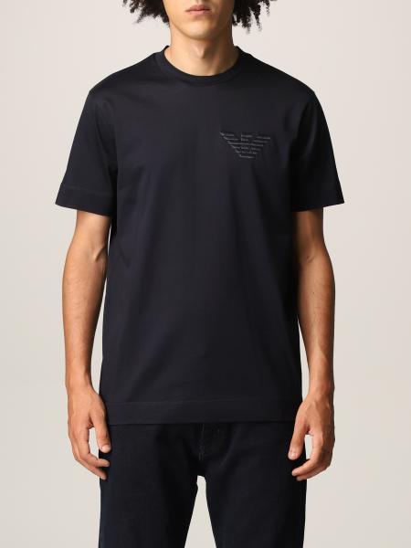 T-shirt Emporio Armani con ricamo