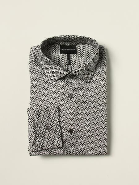 Camicia Emporio Armani con logo all over