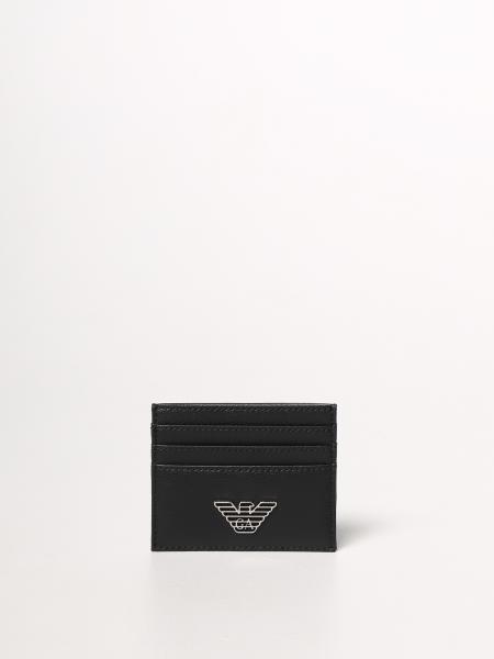 Porta carte Emporio Armani in pelle sintetica