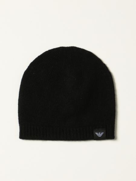 Emporio Armani hat in cashmere