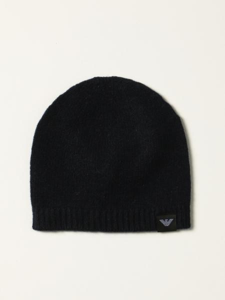 Cappello a berretto Emporio Armani in cashmere