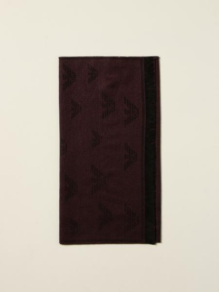 Sciarpa Emporio Armani in misto lana
